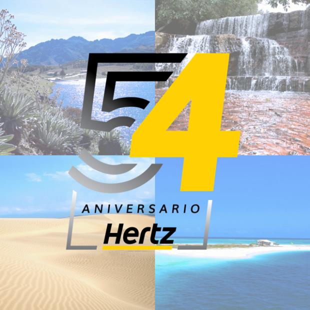 e8427656b331 En este 54 aniversario Hertz cuenta con promociones especiales a nivel  nacional